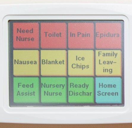 Nurse call pad
